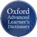 Oxford Advanced Learner's Dict