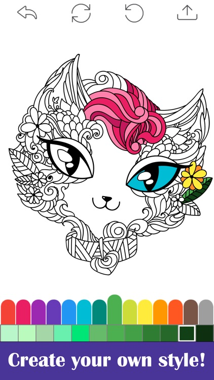 Coloring Book for Adults. screenshot-4