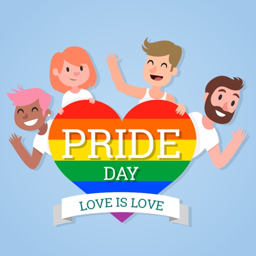 LGBT Pride Love Stickers
