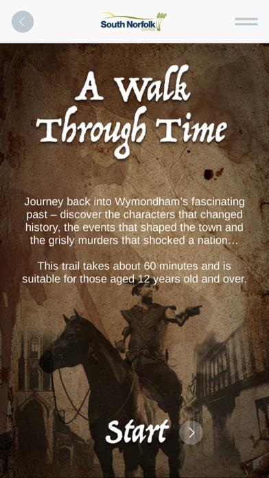 Wymondham AR Trails screenshot three
