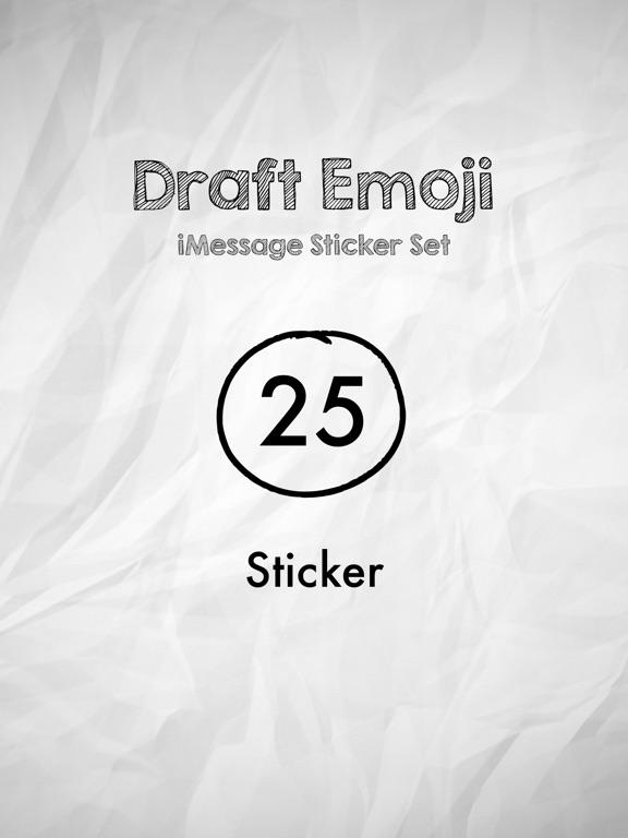 Draft Emoji screenshot 4