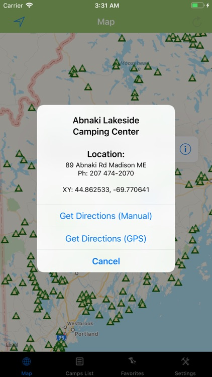 Maine – Camping & RV spots screenshot-1