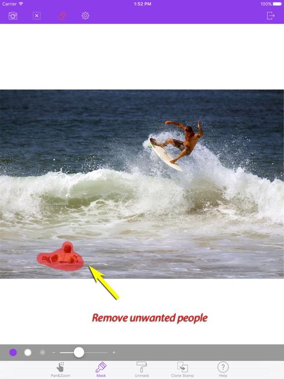 Image Eraser - Inpaint & heal Screenshots