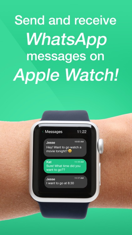 Watch App for WhatsChat