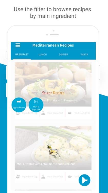 Mediterranean Diet & Recipes screenshot-5