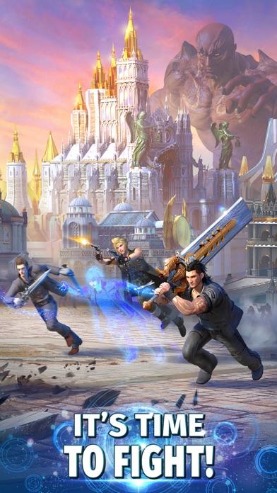 Final Fantasy XV: A New Empire Screenshot