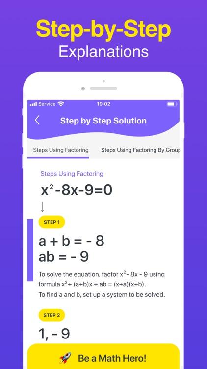 Math Hero: Math Answer Scanner screenshot-8