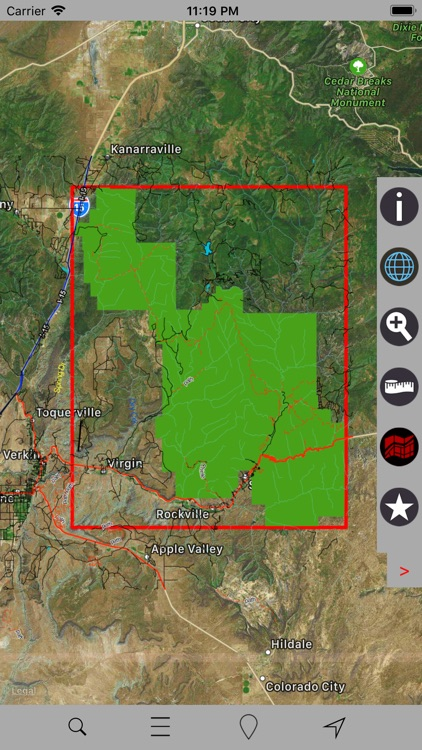 Zion National Park – GPS screenshot-3