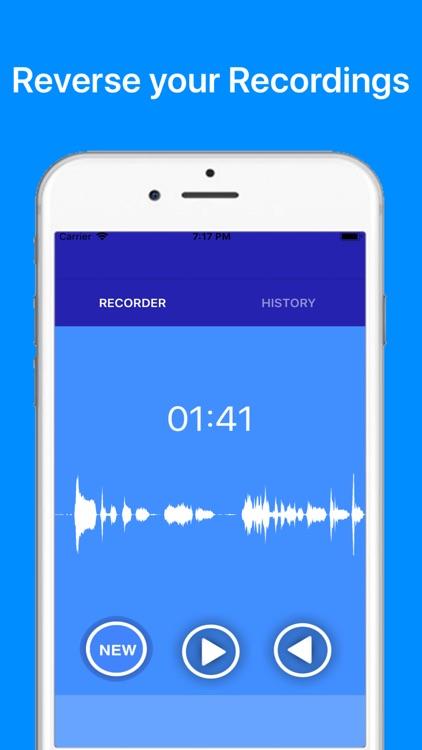PRO Speech Reverse - Audio screenshot-3