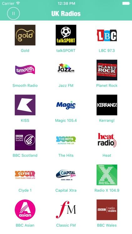 Radios UK Pro British Radio FM