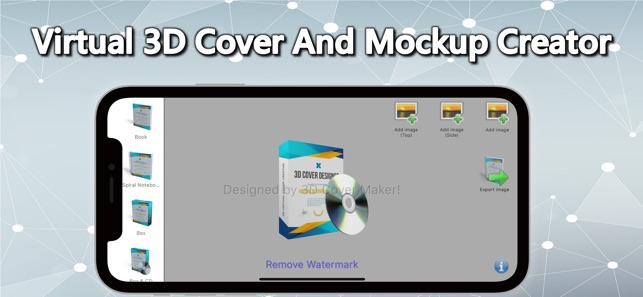 3D Cover Maker: Book, Box, ect on the App Store