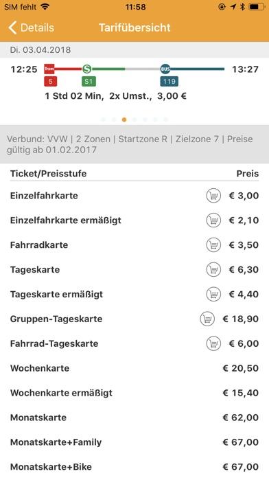VVW Fahrplanauskunft for Windows