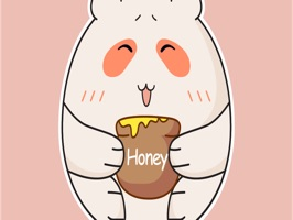 Silly Bear Animated Sticker