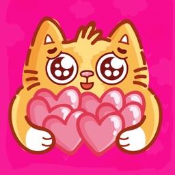Tiffy Cat Stickers