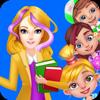 BEST FREE GAMES-FUN APPS - Teacher Rush: School Homework! artwork