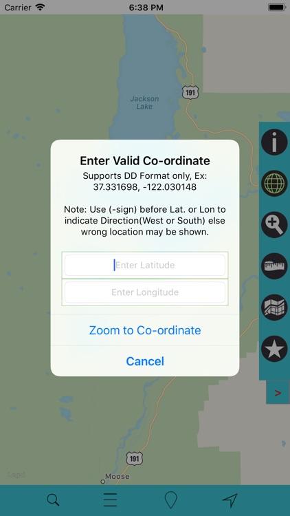 Grand Teton National Park GPS screenshot-3
