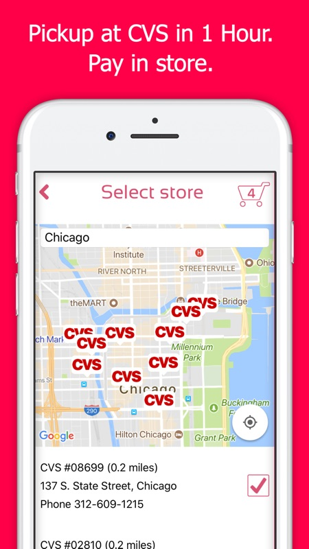 printing photos from iphone at cvs