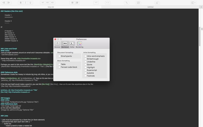 MarkEditor Screenshots