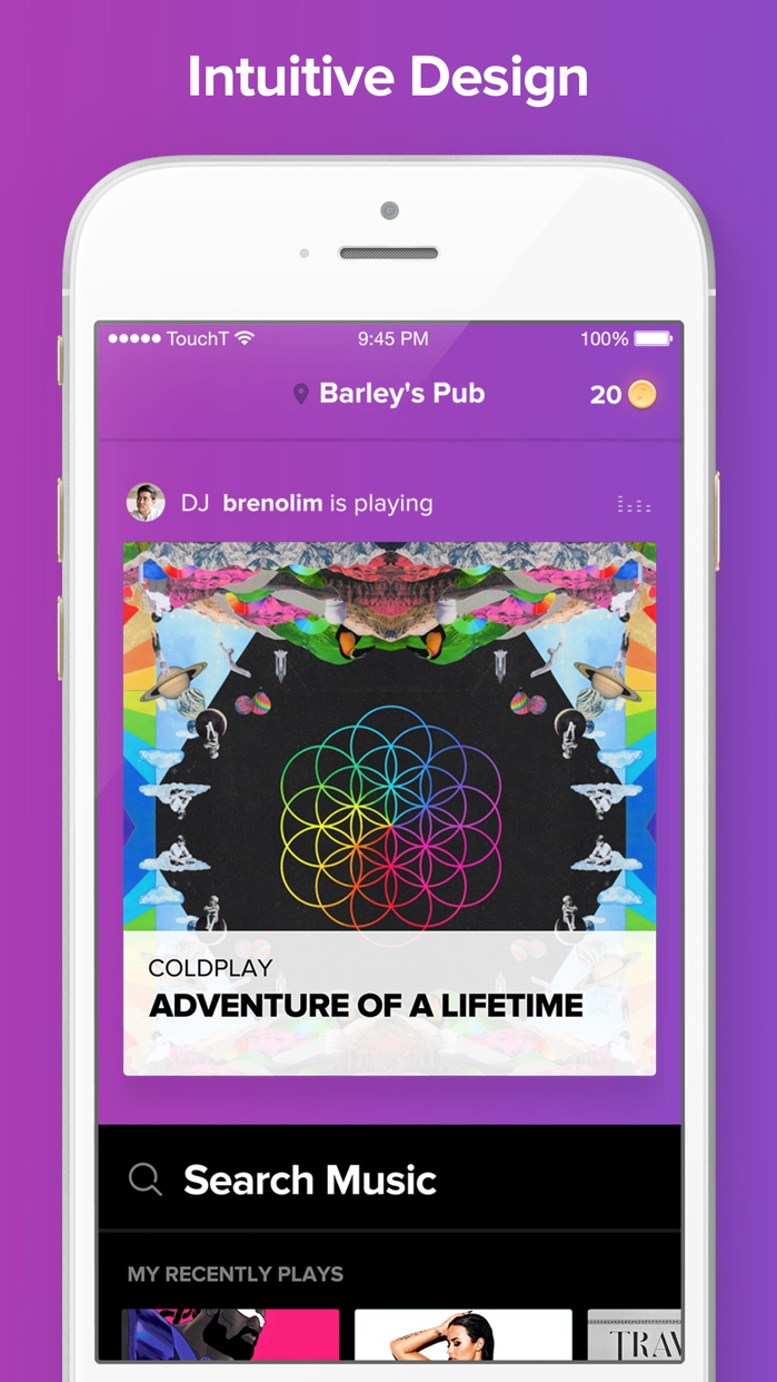 TouchTunes Screenshot
