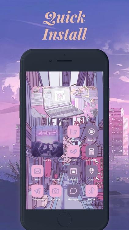 Icon Theme - Aesthetic Kit screenshot-7