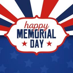 Memorial Day Text Stickers App