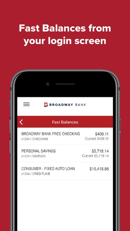 Broadway Bank Mobile screenshot-5