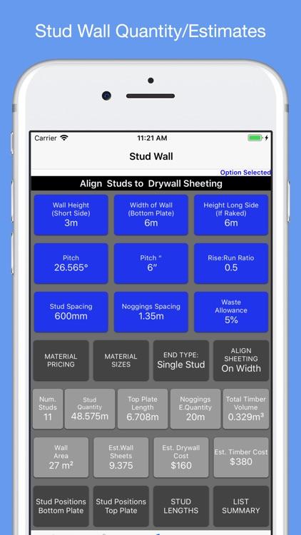 Roof Guide - Carpentry Calc screenshot-4