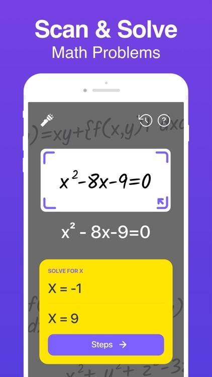 Math Hero: Math Answer Scanner