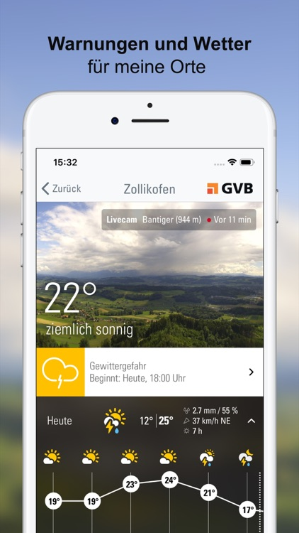 Wetter-Alarm: Wetter & Alarme screenshot-0