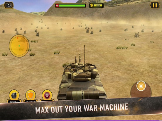 Real Battle Blitz: Tank 3D War screenshot 4