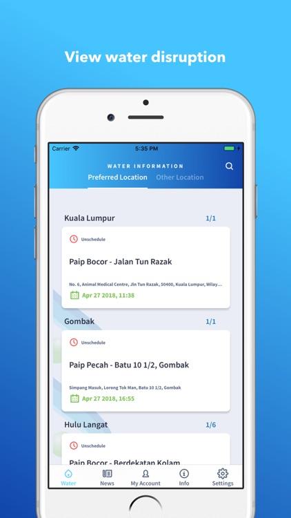 Air Selangor screenshot-4