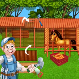 Build a Horse Stable House