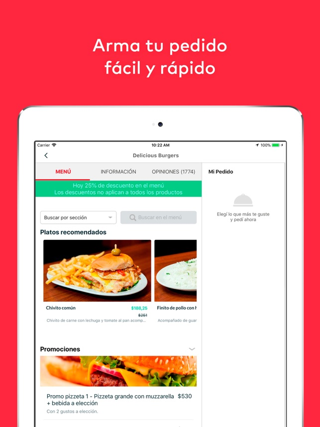 pedidosya food delivery on the app store