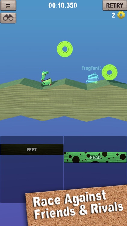 Wobble Frog Adventures screenshot-3