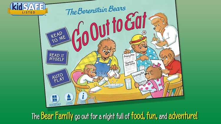 Berenstain Bears Go Out to Eat