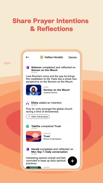 Hallow: Catholic Meditation screenshot-7