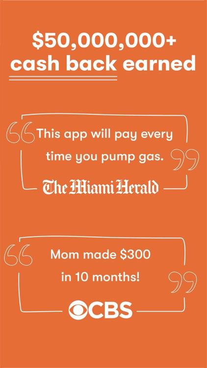 GetUpside Cashback: Gas & Food