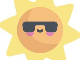 Cool Summer Party Stickers