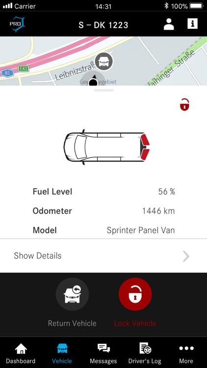 Mercedes PRO connect app screenshot-3