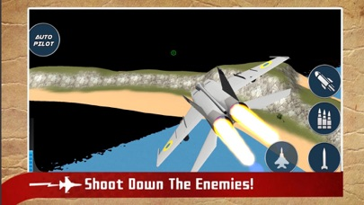 Real Jet Fighter: Sky Shooting screenshot one