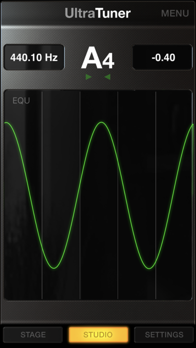 Screenshot #3 pour UltraTuner - Precision Tuning