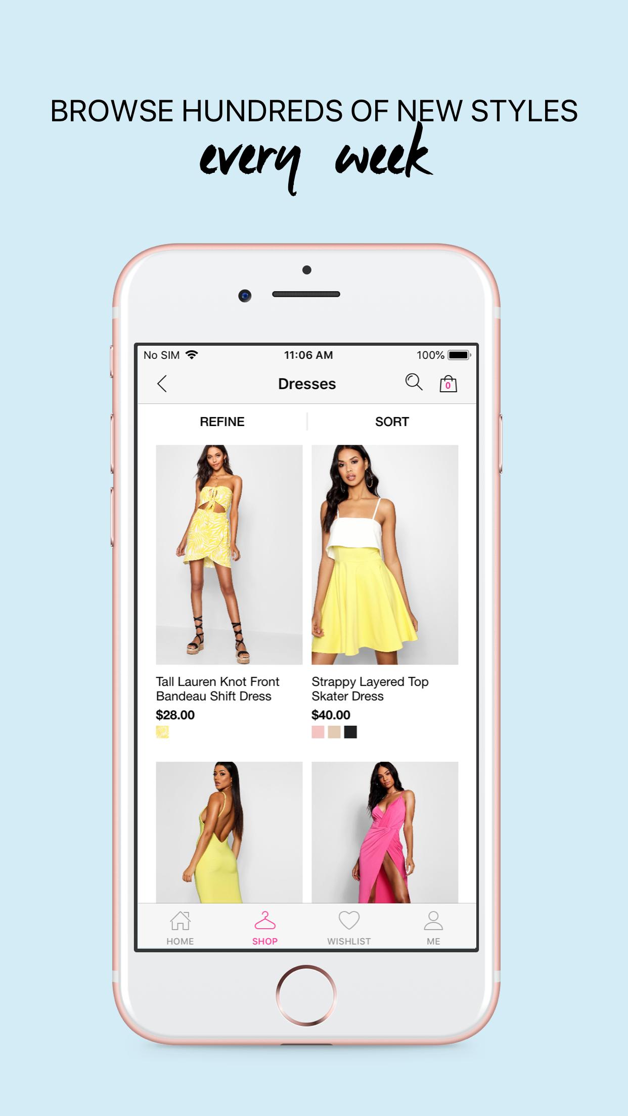 boohoo – Clothing & Fashion Screenshot