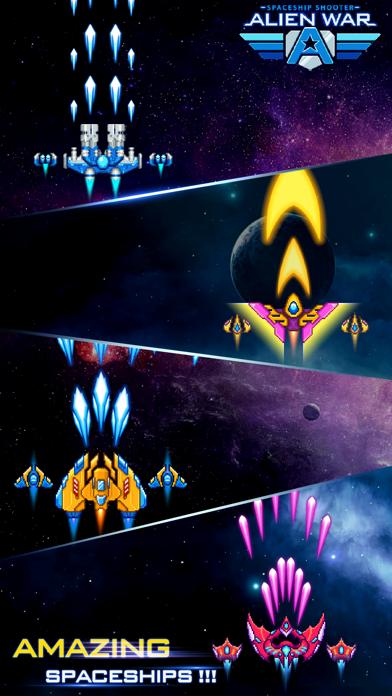 Alien War Spaceship Shooter screenshot 3