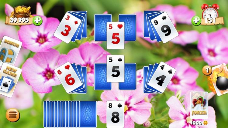 Tri Peaks Solitaire Card Games screenshot-3