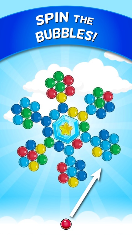 Bubble Cloud: Spinning Bubbles screenshot-0