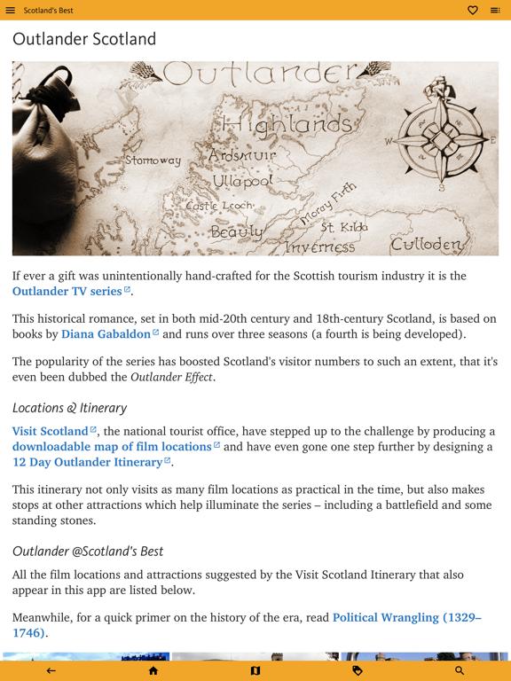 Scotland's Best: Travel Guide screenshot 13