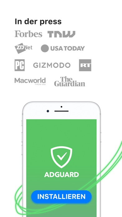Screenshot for AdGuard — adblock & privacy in Germany App Store