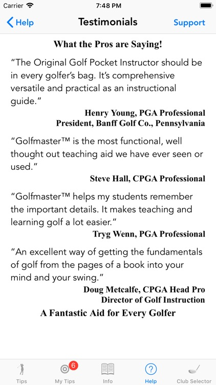 Golfmaster Tips screenshot-7