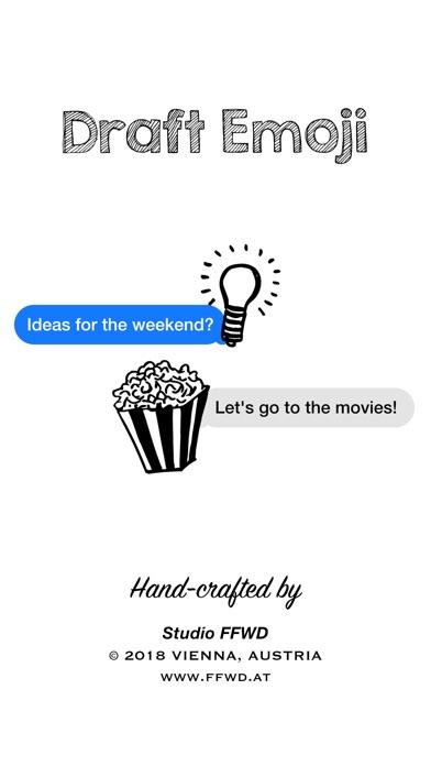 Draft Emoji: Objekte (Skizze)Screenshot von 3