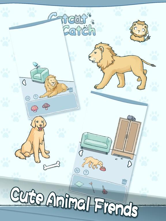 Cat Cat Catch-fun puzzel game screenshot #3